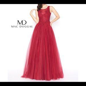Mac Duggal Gown
